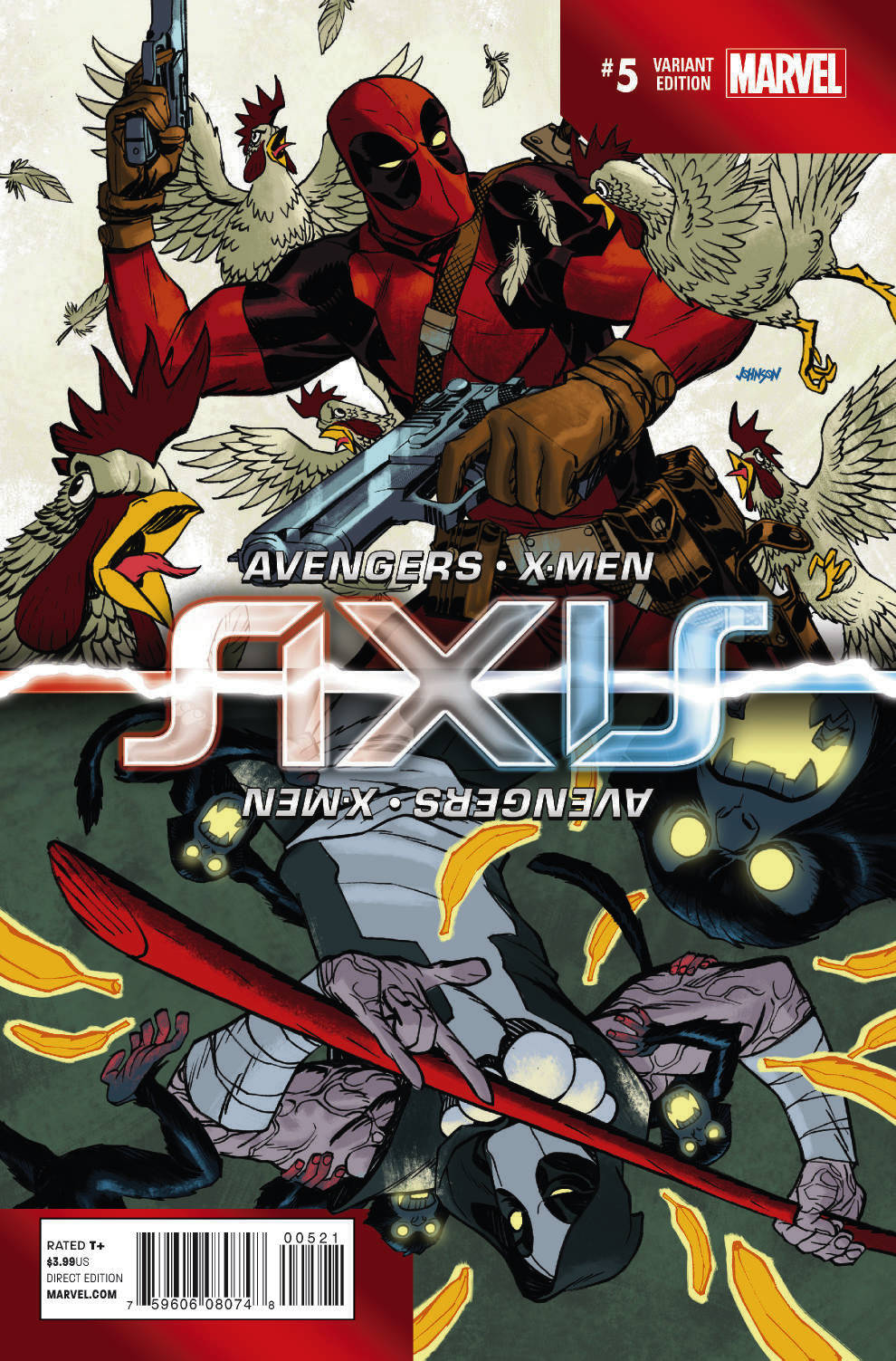 AVENGERS AND X-MEN AXIS #5 (OF 9) INVERSION VAR