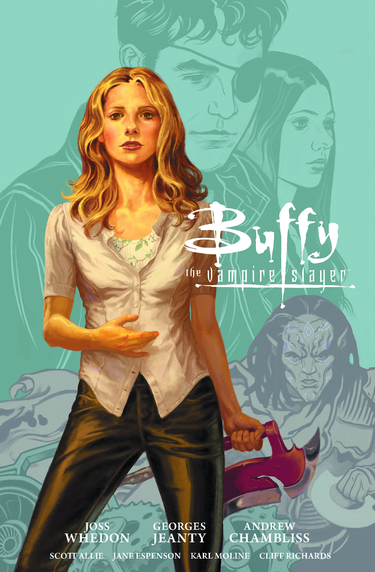 BTVS SEASON 9 LIBRARY HC VOL 01