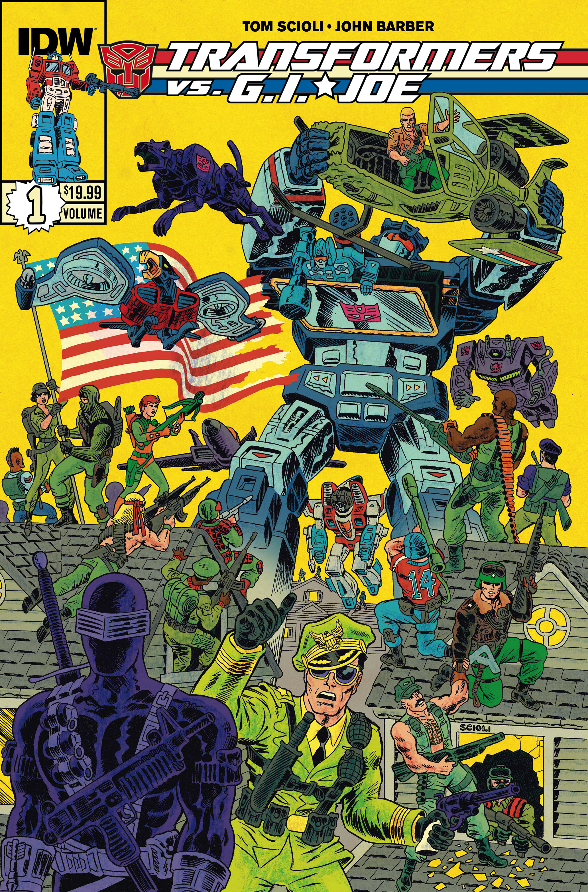 TRANSFORMERS VS GI JOE TP VOL 01