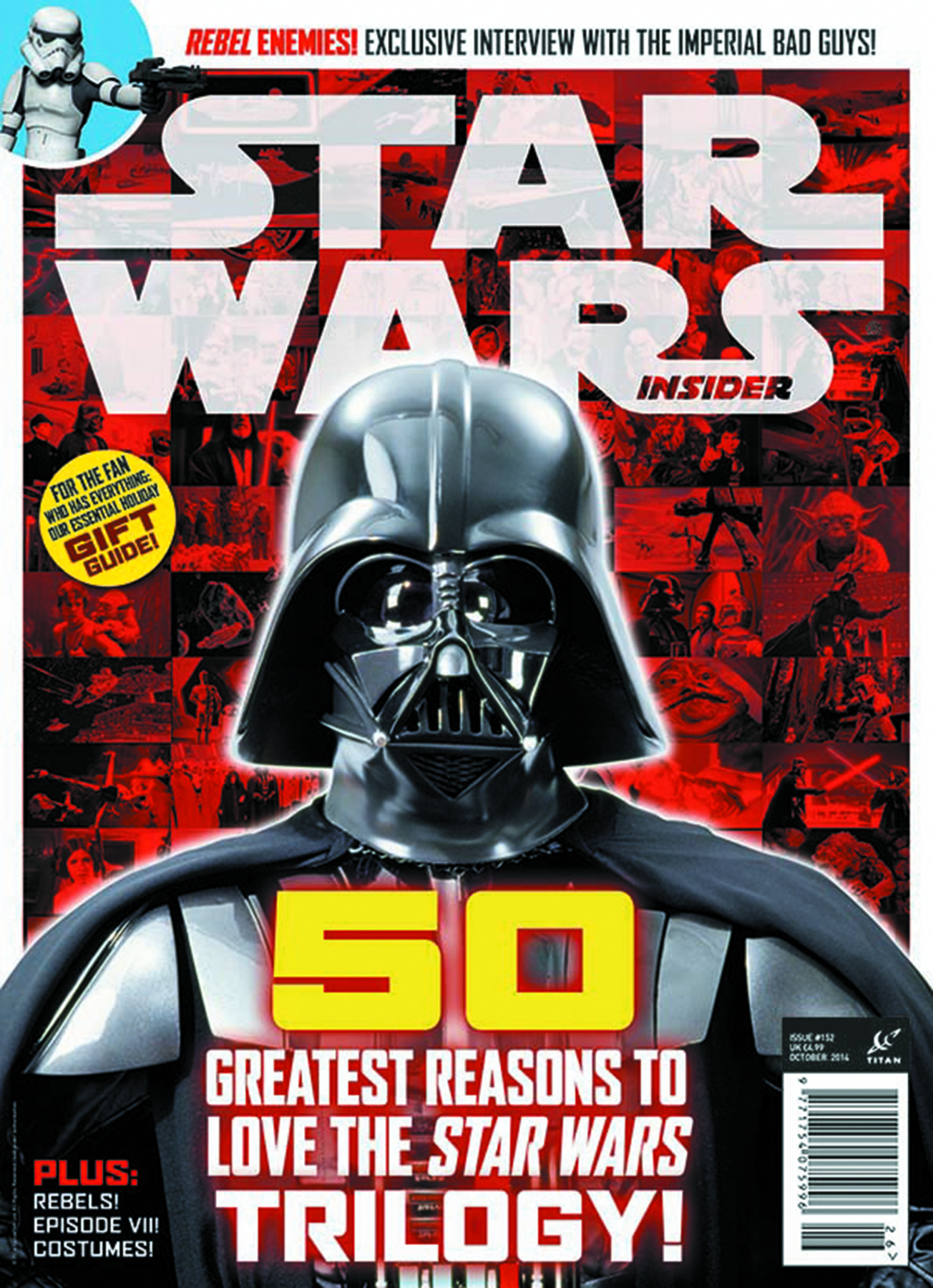STAR WARS INSIDER #154 NEWSSTAND ED