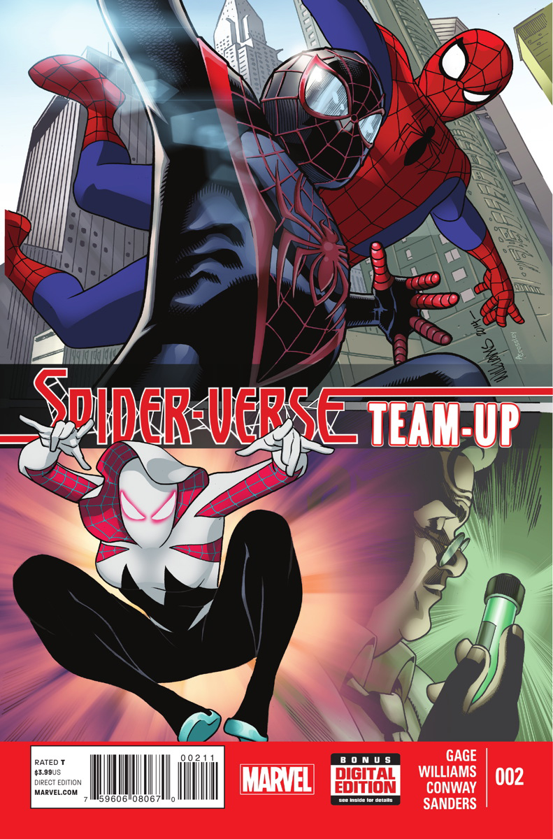 SPIDER-VERSE TEAM UP #2 (OF 3) SV