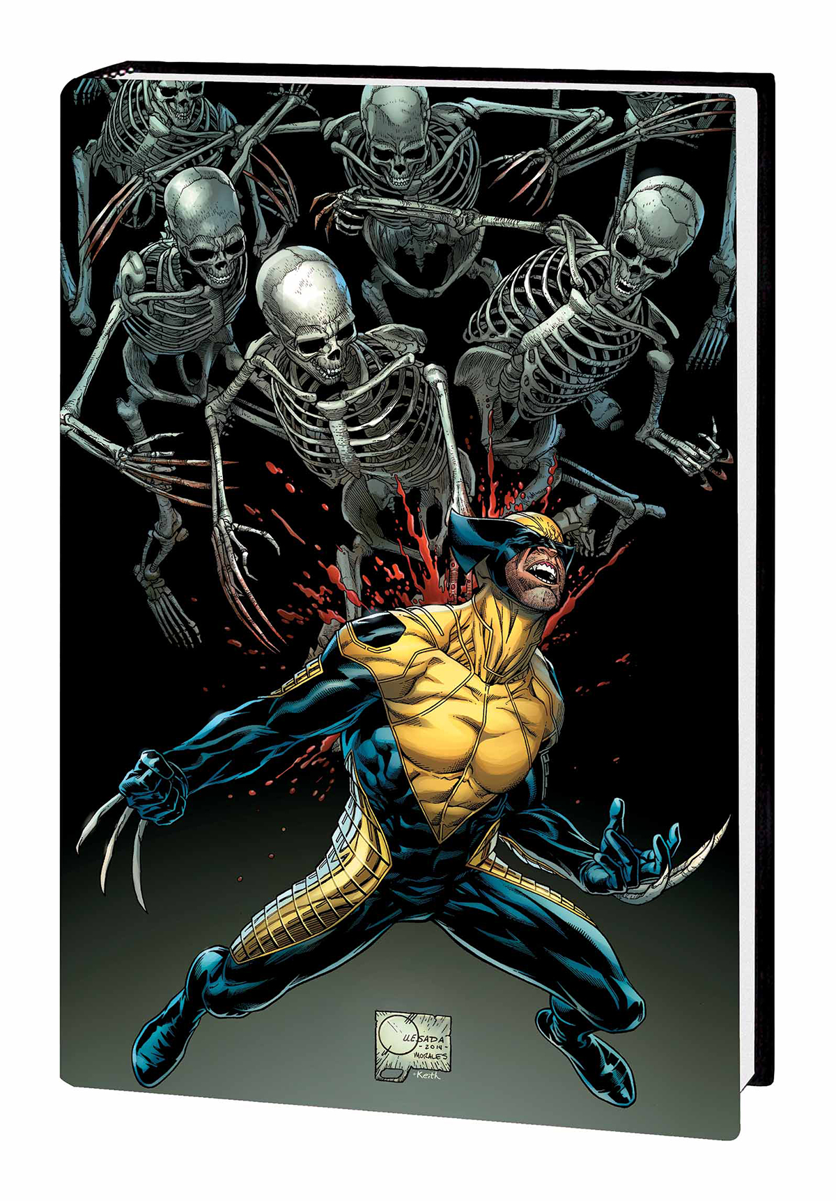 DEATH OF WOLVERINE HC QUESADA DM VAR ED