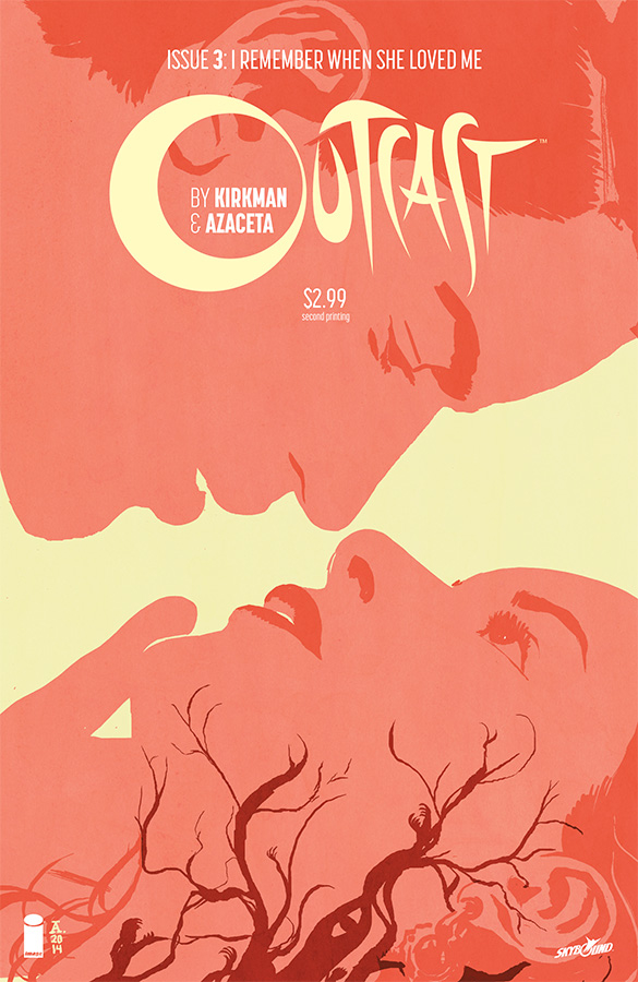 OUTCAST BY KIRKMAN & AZACETA #3 2ND PTG (MR)