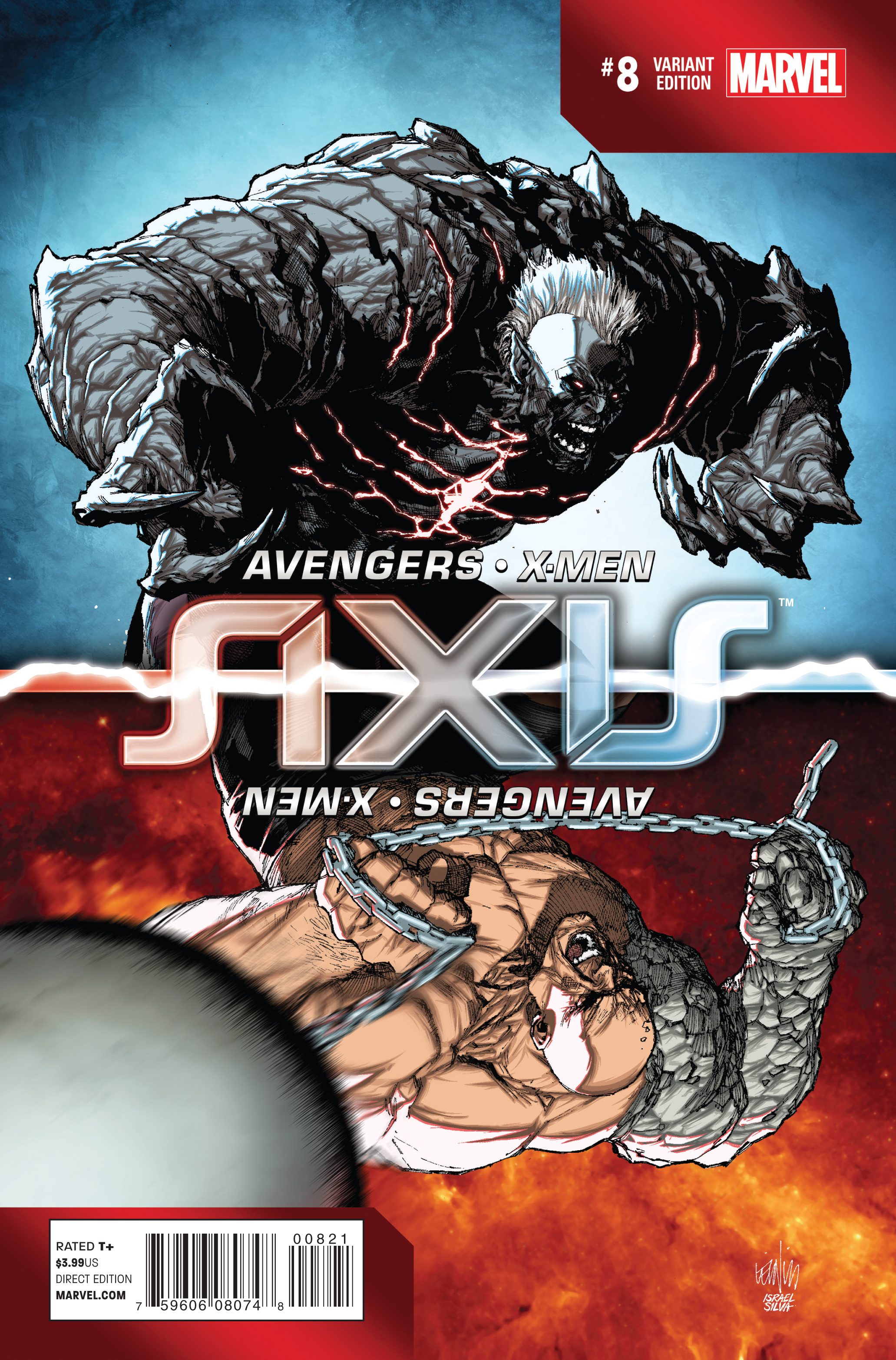 AVENGERS AND X-MEN AXIS #8 (OF 9) YU INVERSION VAR
