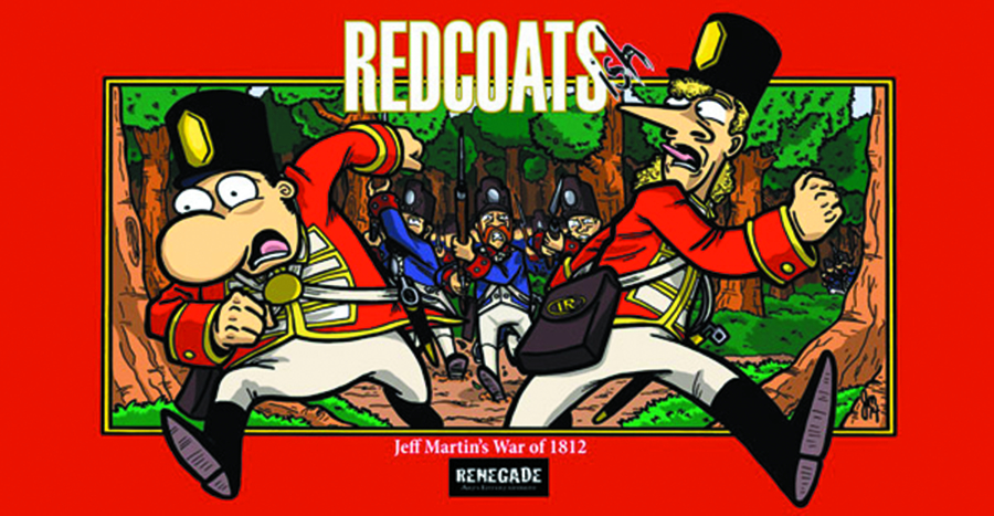 REDCOATS-ISH JEFF MARTIN WAR OF 1812 GN
