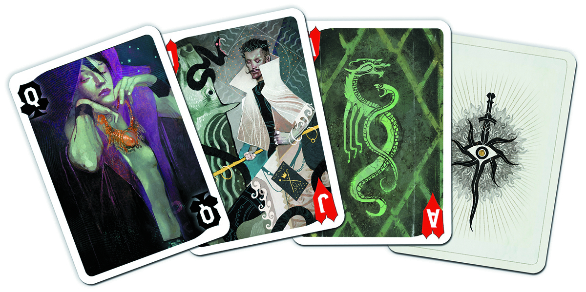 DRAGON AGE INQUISITION PLAYING CARDS (NOV140121)