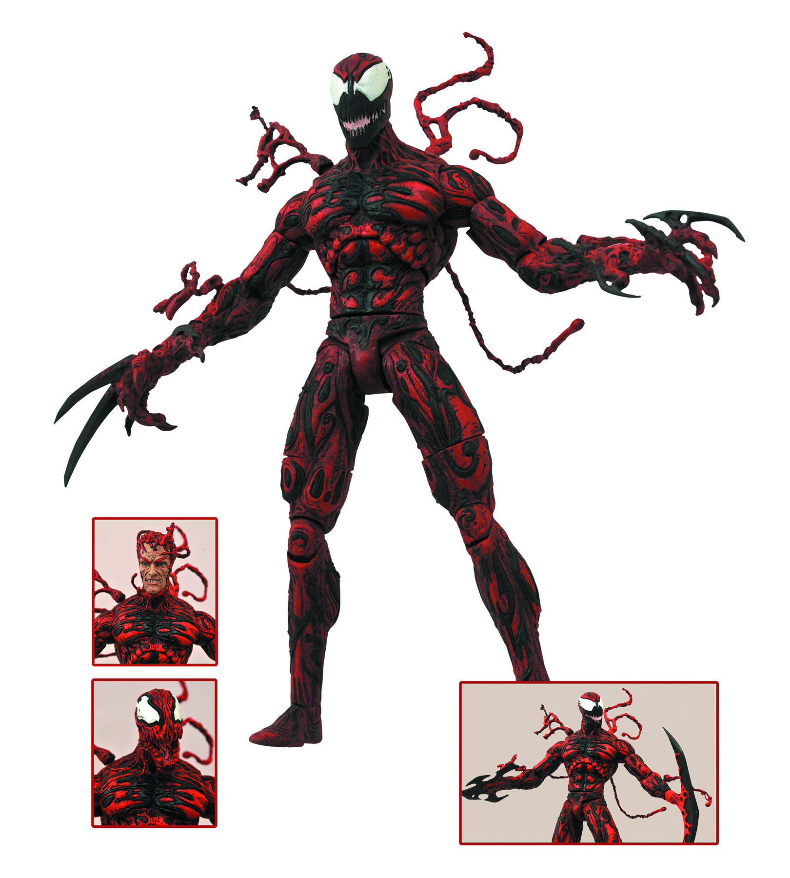 NOV142179 - MARVEL SELECT CARNAGE AF - Previews WorldUltimate Carnage Marvel Select