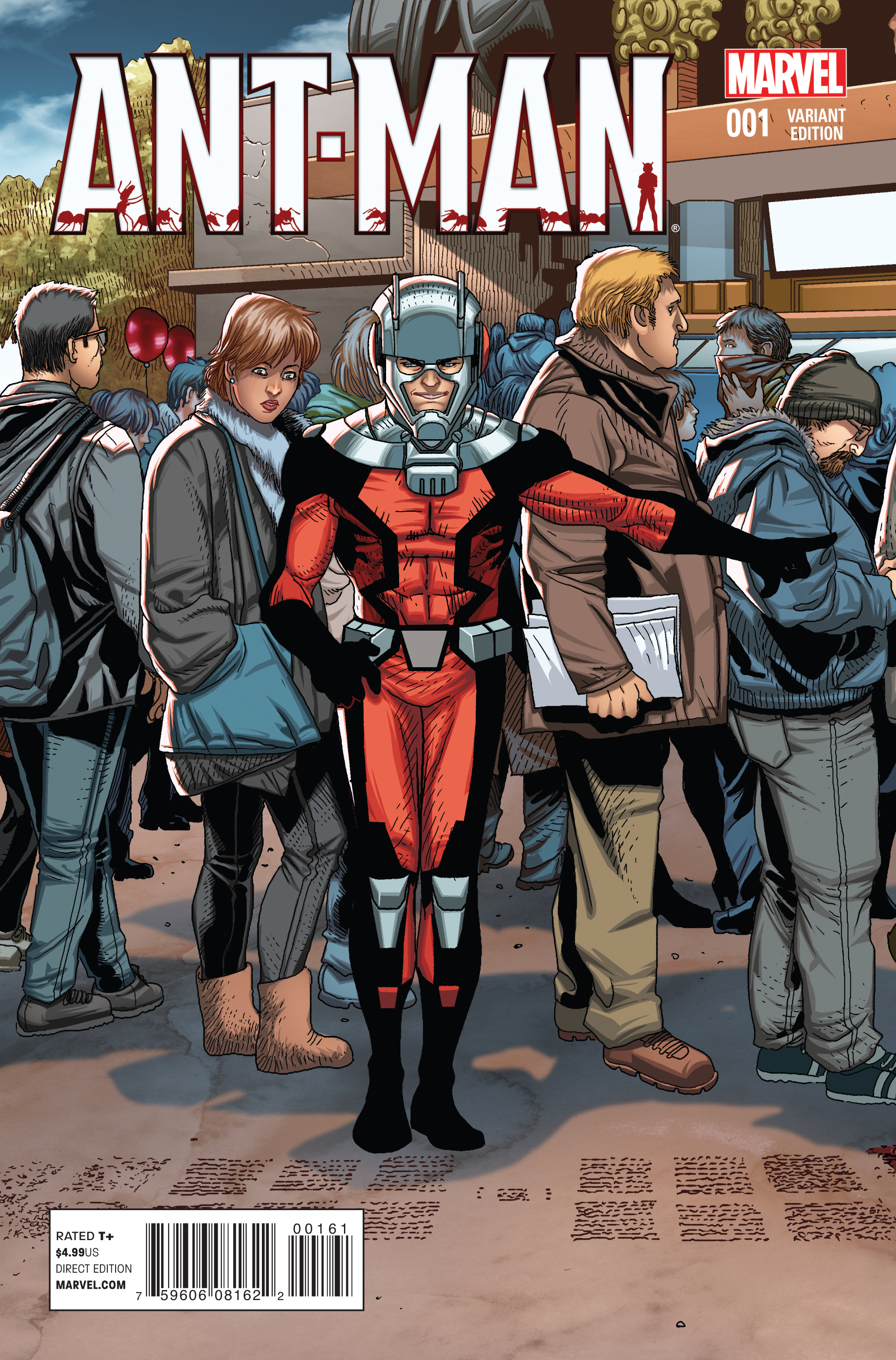 ANT-MAN #1 LARROCA WELCOME HOME VAR