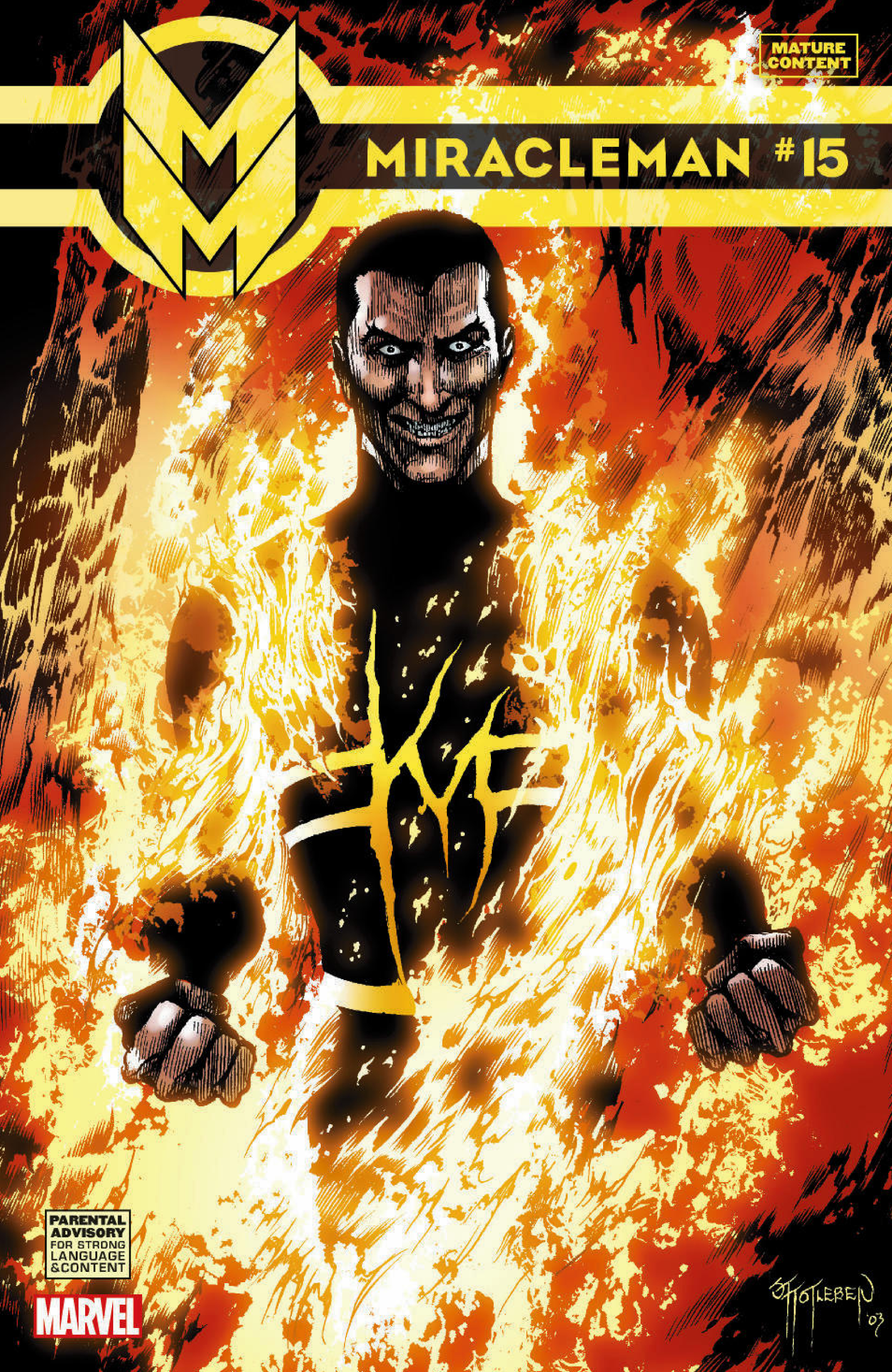 MIRACLEMAN #15 (MR)