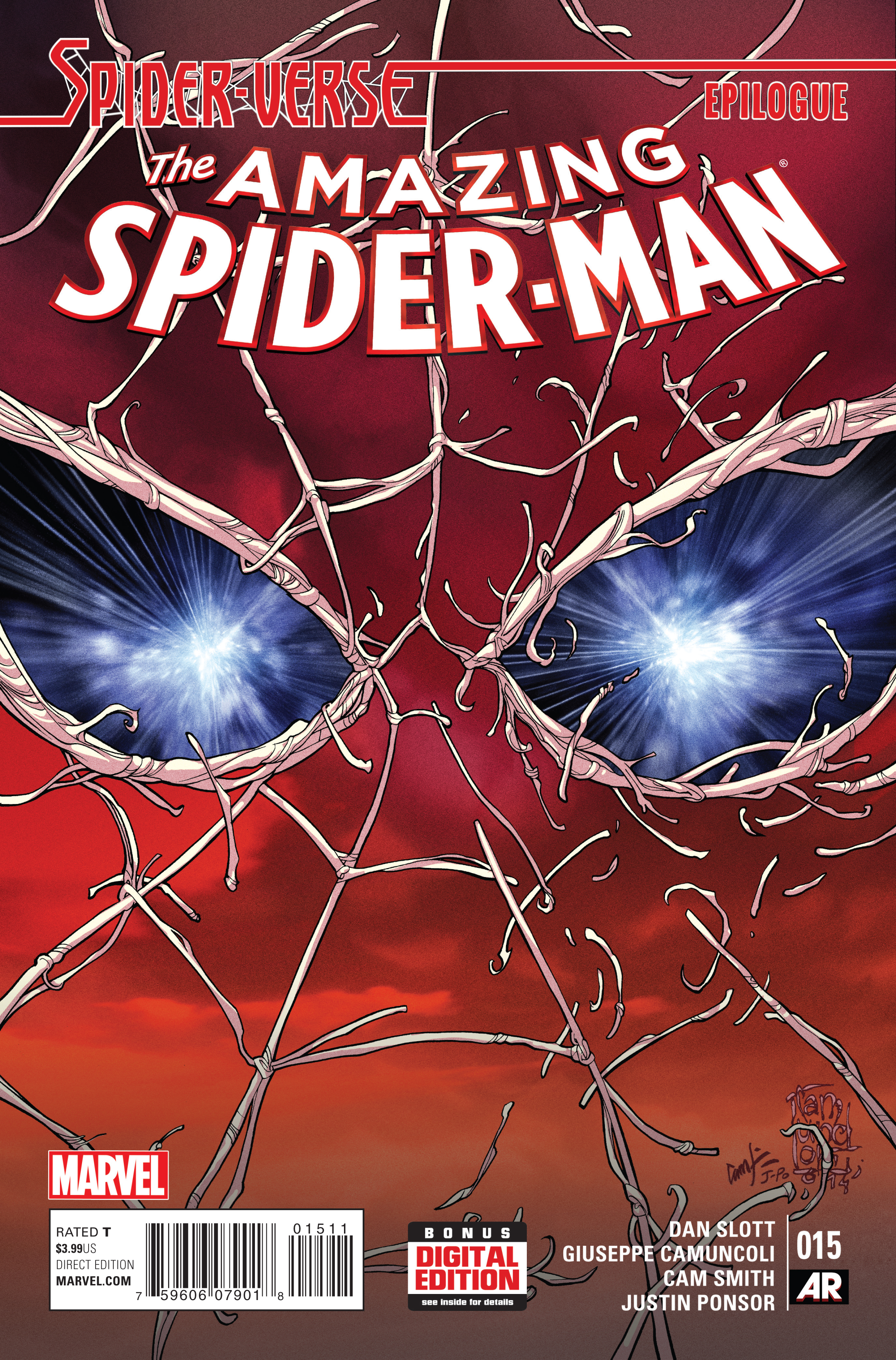 AMAZING SPIDER-MAN #15 SV