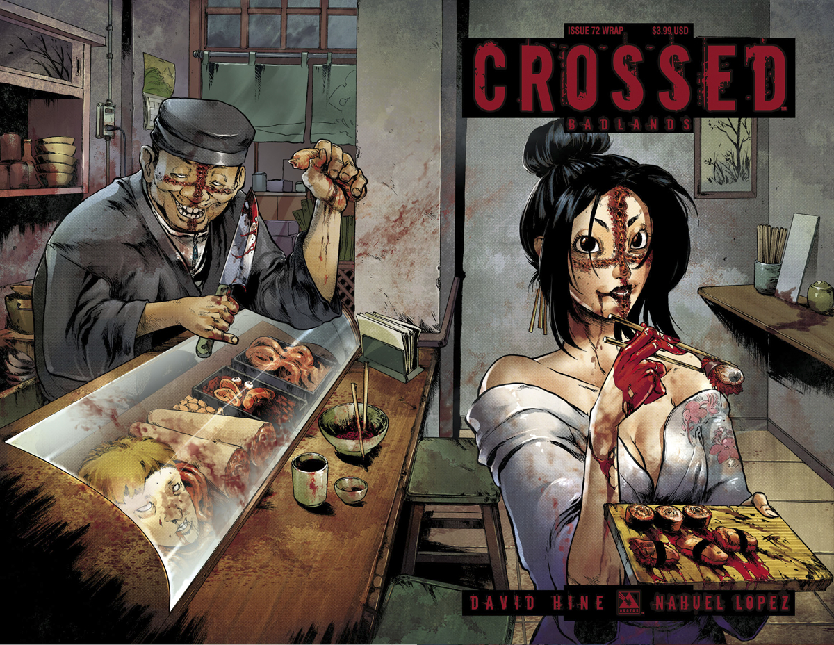 CROSSED BADLANDS #72 WRAP CVR (MR)