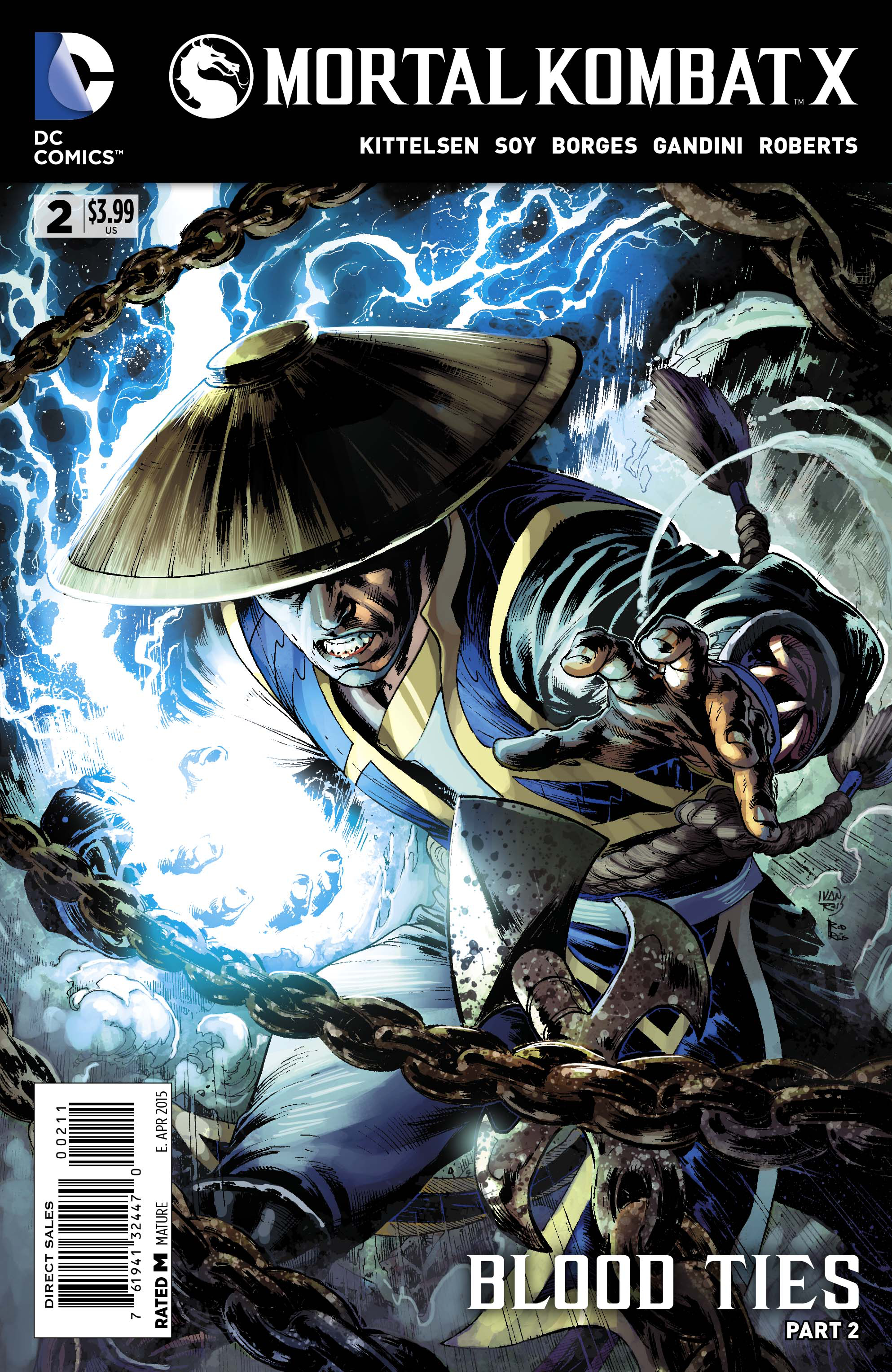 MORTAL KOMBAT X #2 (MR)