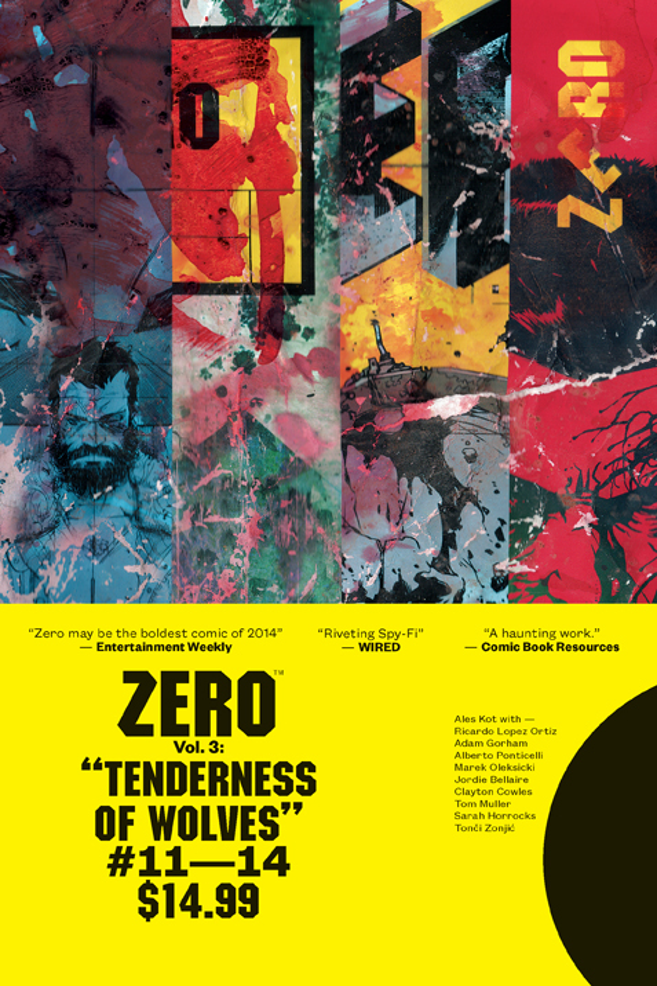 ZERO TP VOL 03 TENDERNESS OF WOLVES