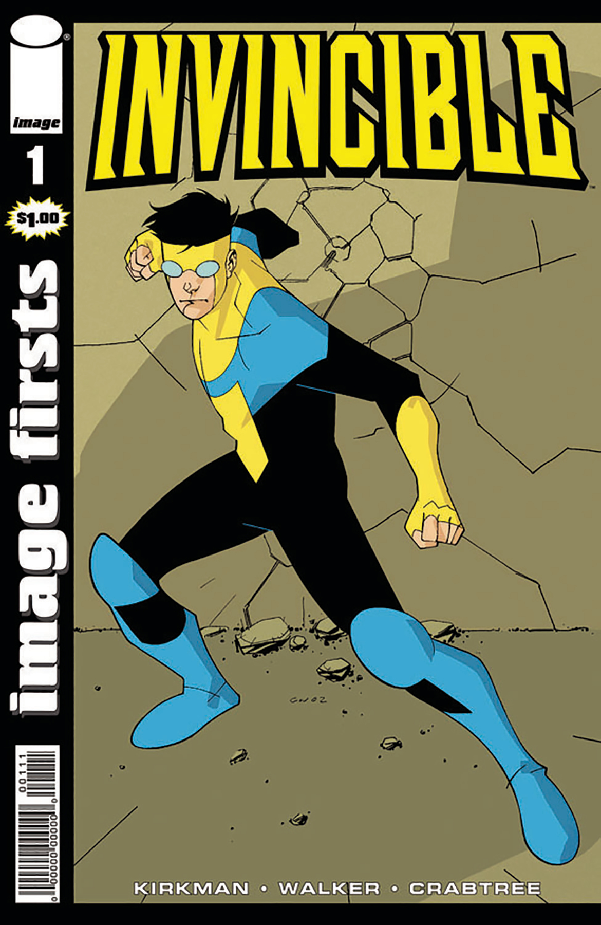 IMAGE FIRSTS INVINCIBLE #1 CURR PTG (O/A)