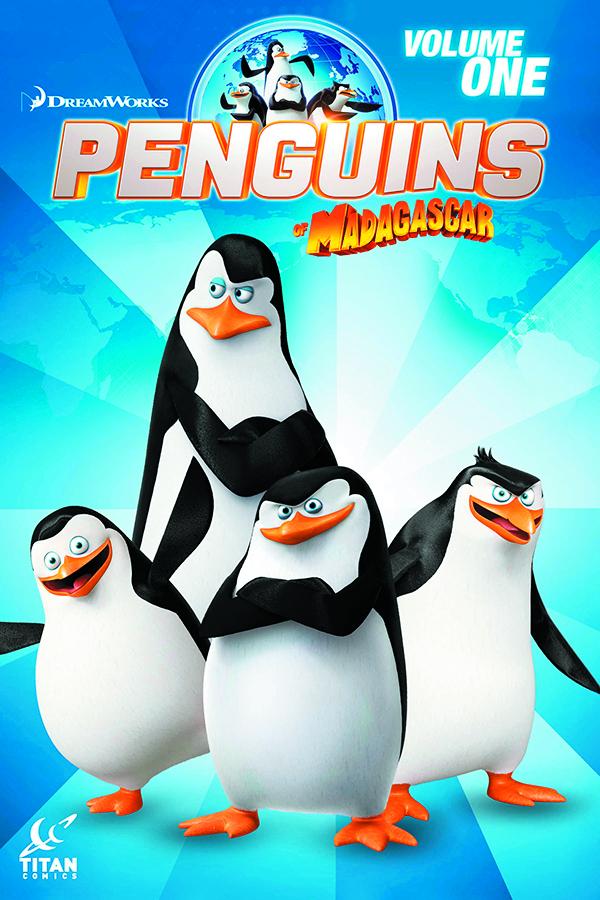jan151613 penguins of madagascar digest tp vol 01 previews world. Black Bedroom Furniture Sets. Home Design Ideas