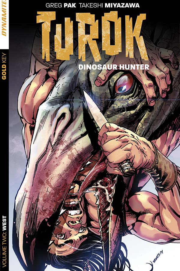 TUROK DINOSAUR HUNTER TP VOL 02 WEST