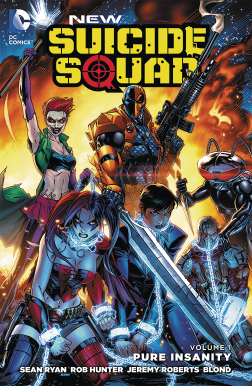 NEW SUICIDE SQUAD TP VOL 01 PURE INSANITY