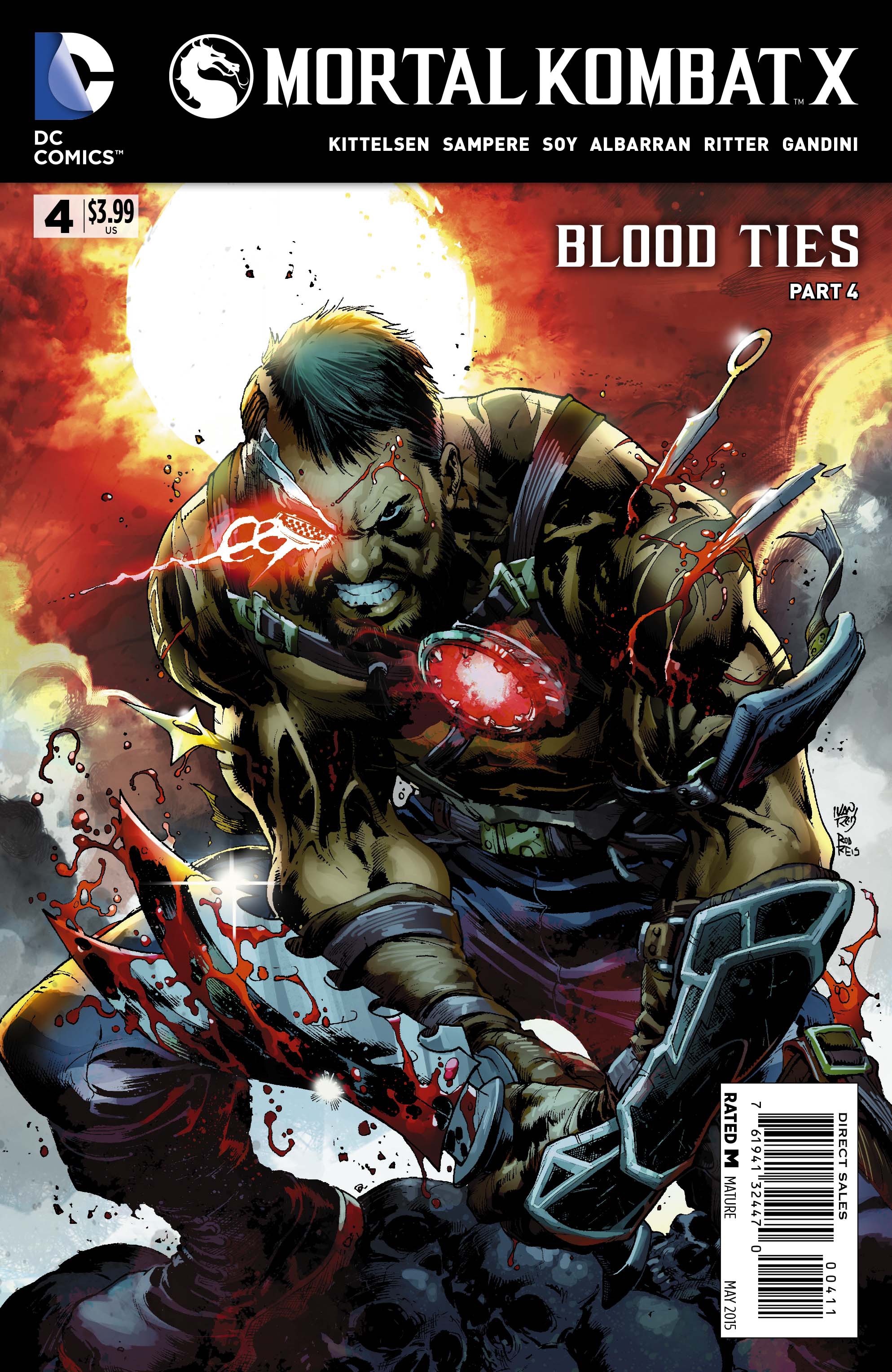 MORTAL KOMBAT X #4 (MR)