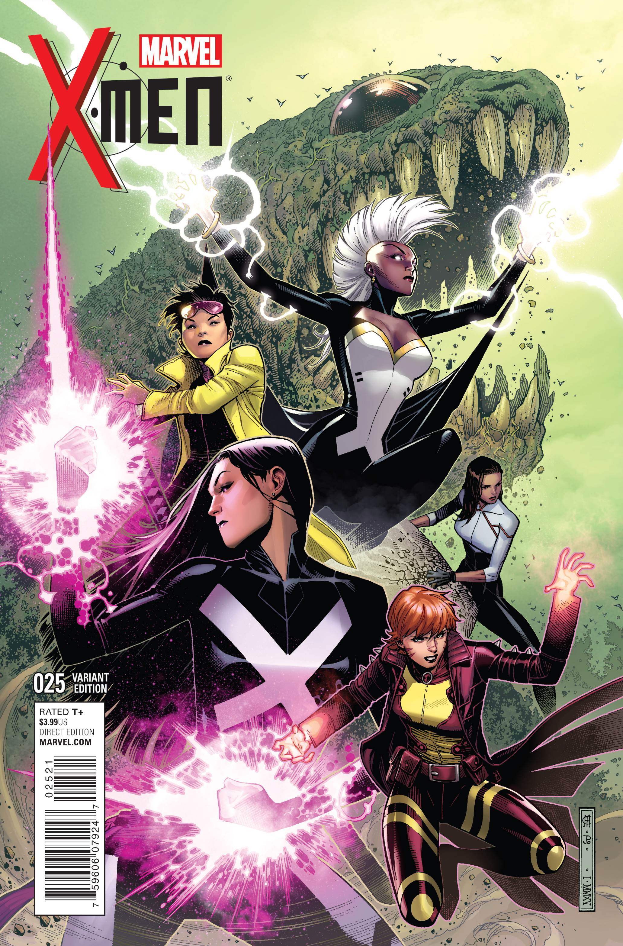 X-MEN #25 CHEUNG VAR