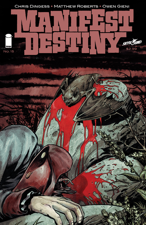 MANIFEST DESTINY #15 (MR)