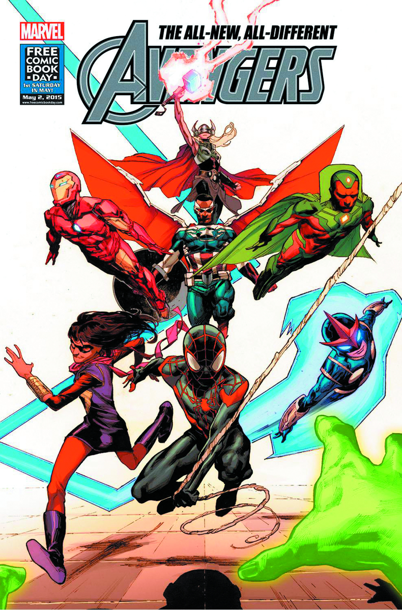 FCBD 2015 ALL NEW ALL DIFFERENT AVENGERS (Net)