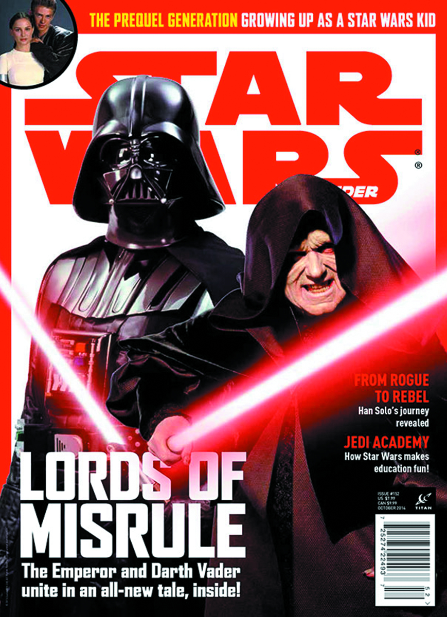 STAR WARS INSIDER #157 NEWSSTAND ED