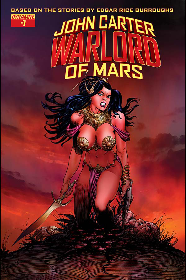 JOHN CARTER WARLORD #7 CVR B SEARS VAR (MR)