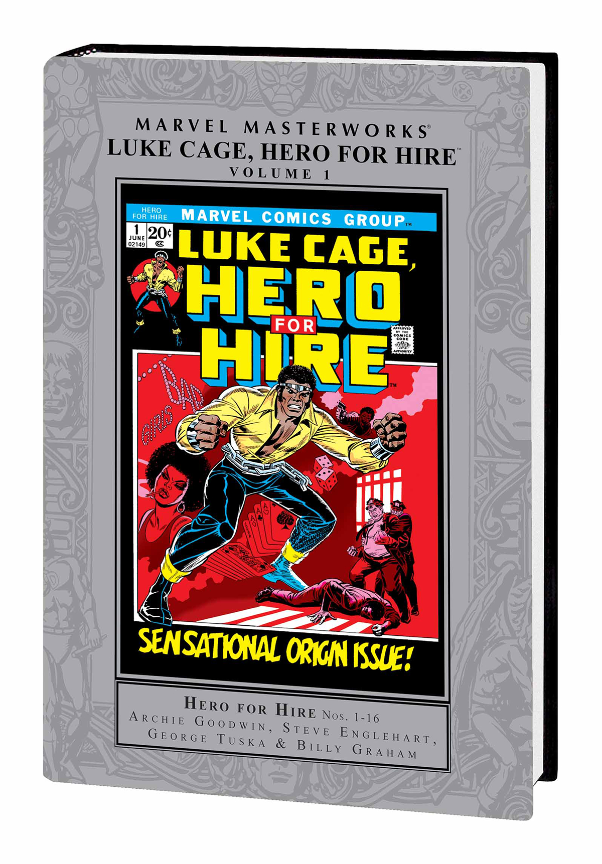 MMW LUKE CAGE HERO FOR HIRE HC VOL 01