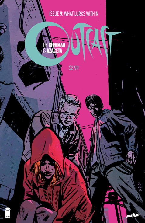 OUTCAST BY KIRKMAN & AZACETA #9 (MR)