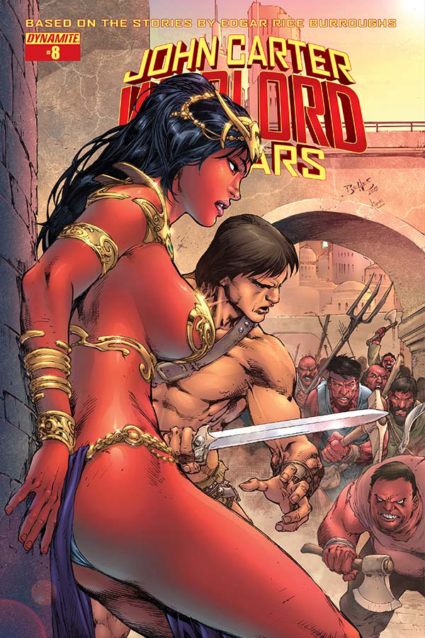 JOHN CARTER WARLORD #8 CVR A BENES MAIN (MR)