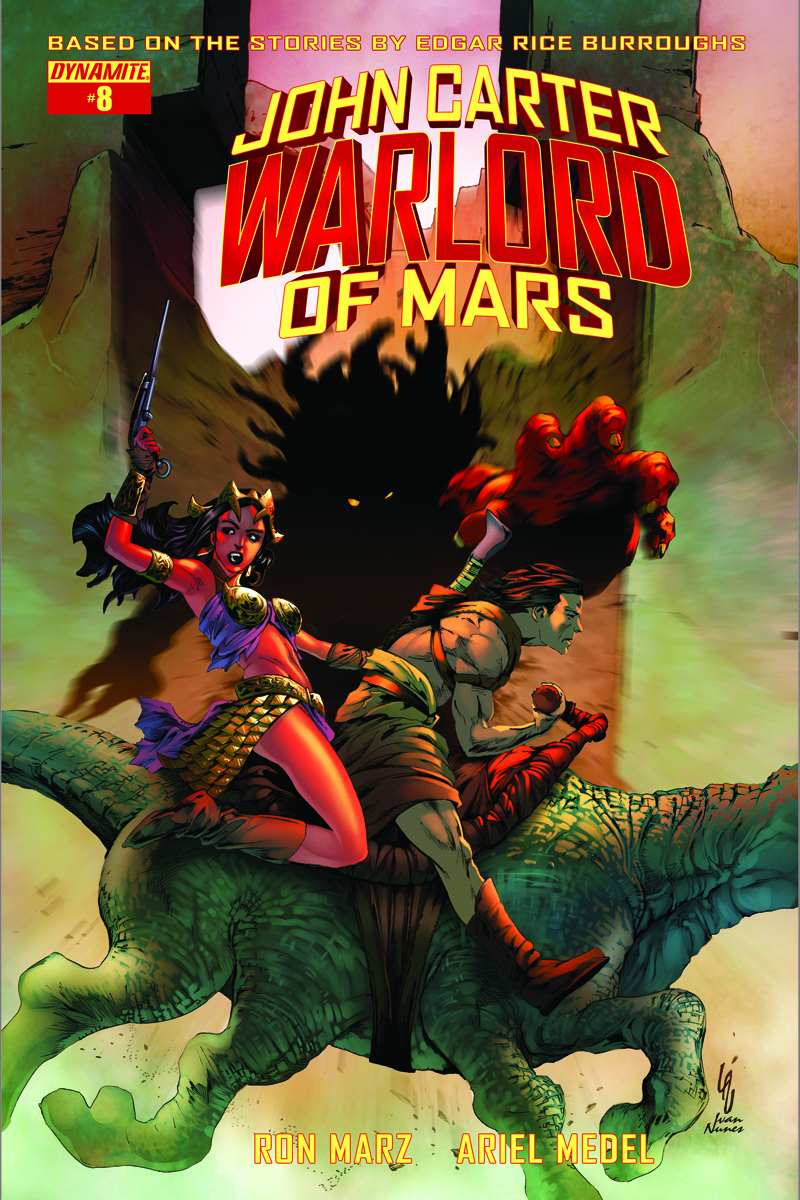 JOHN CARTER WARLORD #8 CVR D EXC SUBSCRIPTION VAR (MR)