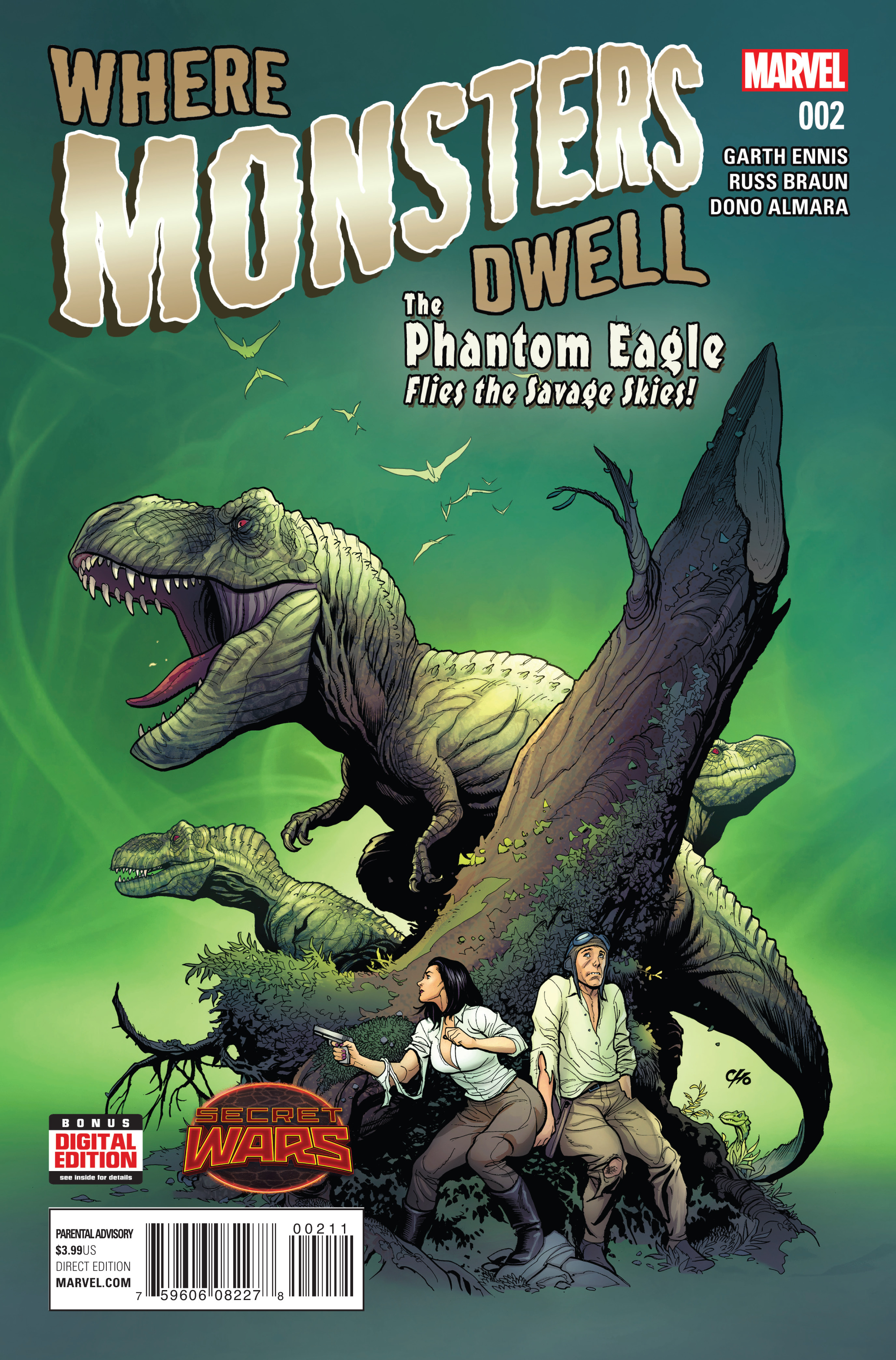 WHERE MONSTERS DWELL #2 (OF 5) SWA