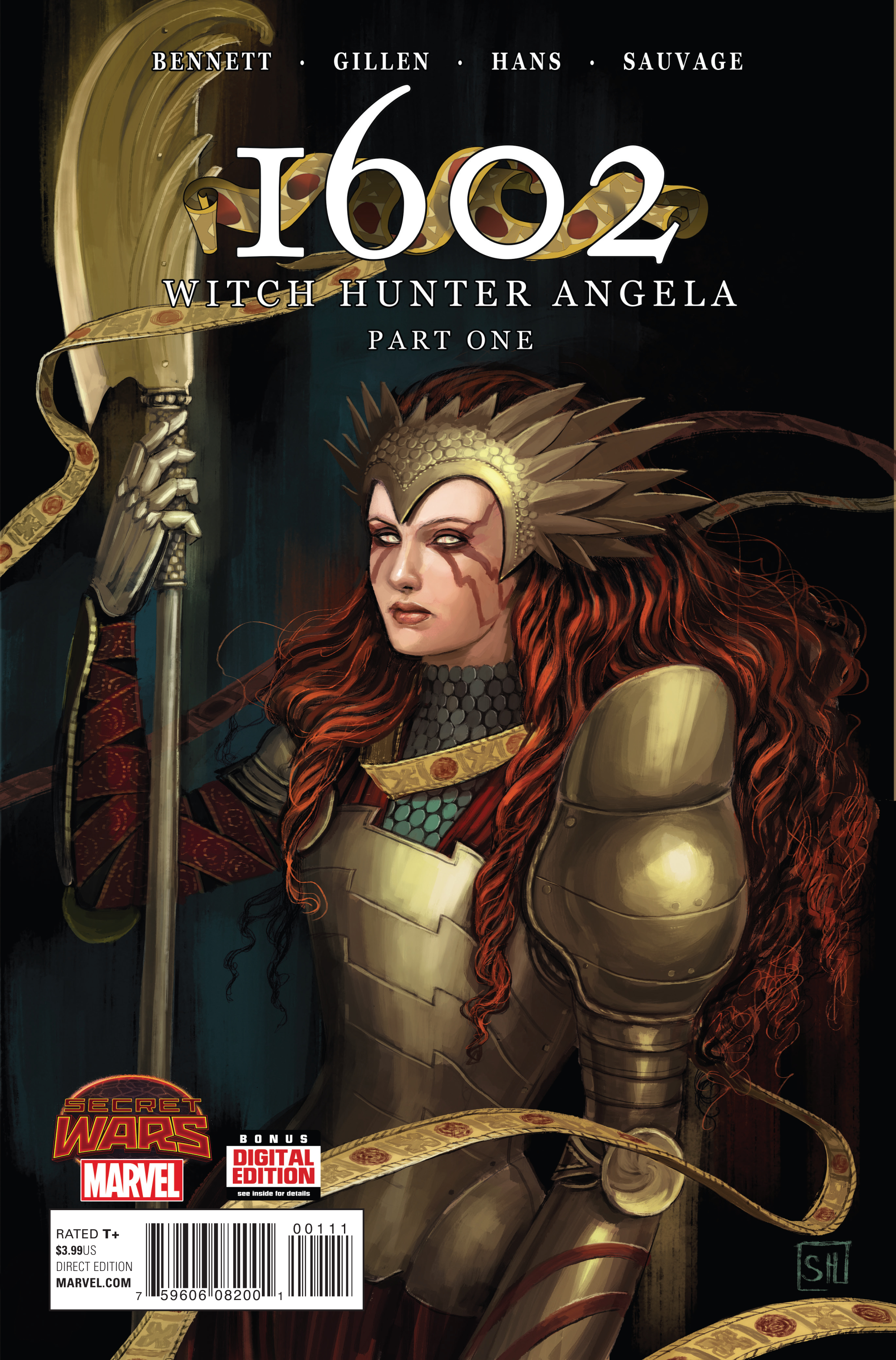 1602 WITCH HUNTER ANGELA #1 SWA