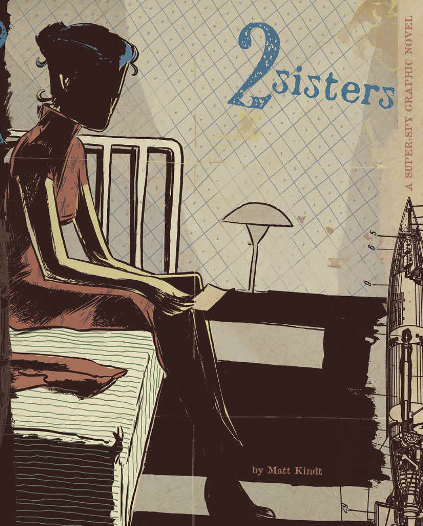 2 SISTERS SUPER SPY HC (MAY150014)
