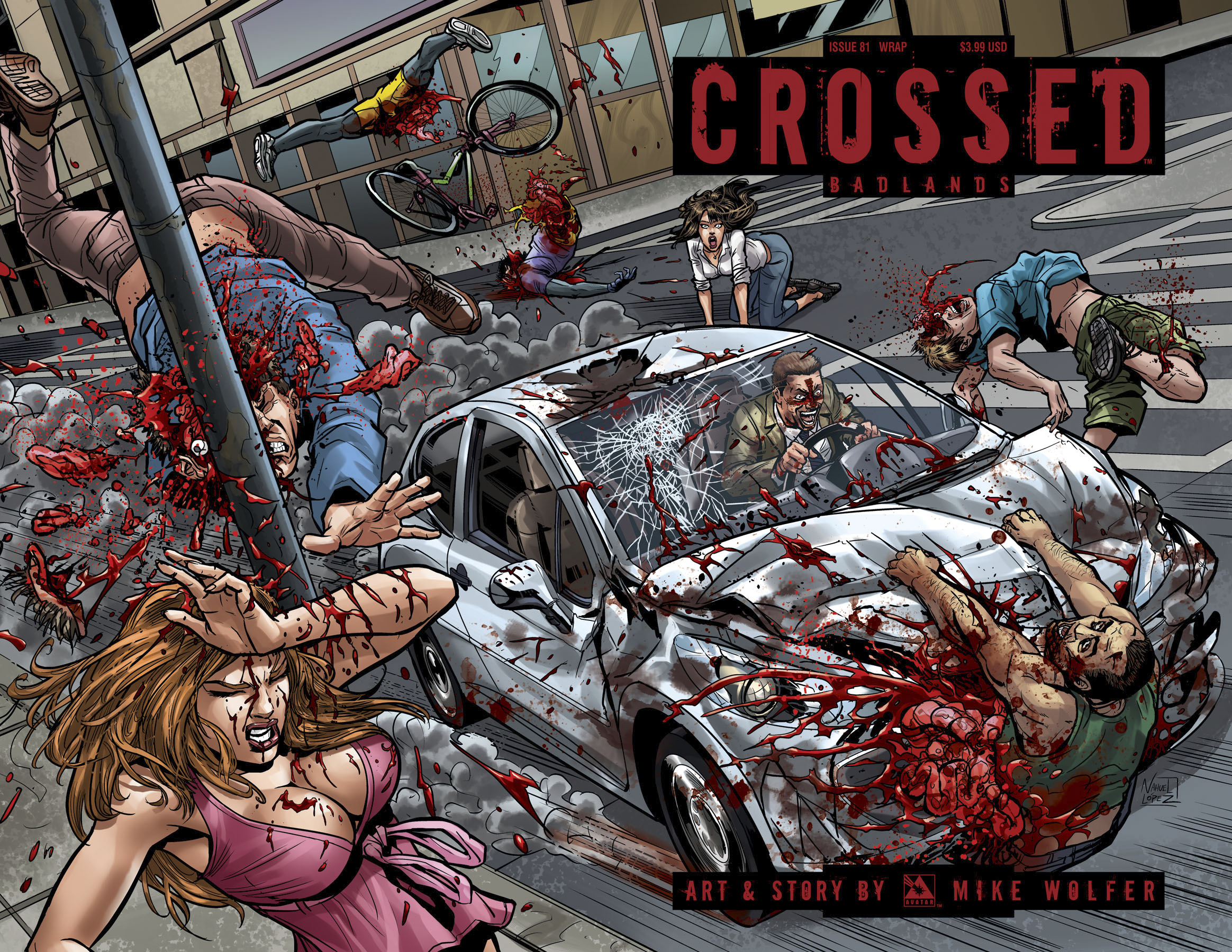 CROSSED BADLANDS #81 WRAP CVR (MR)