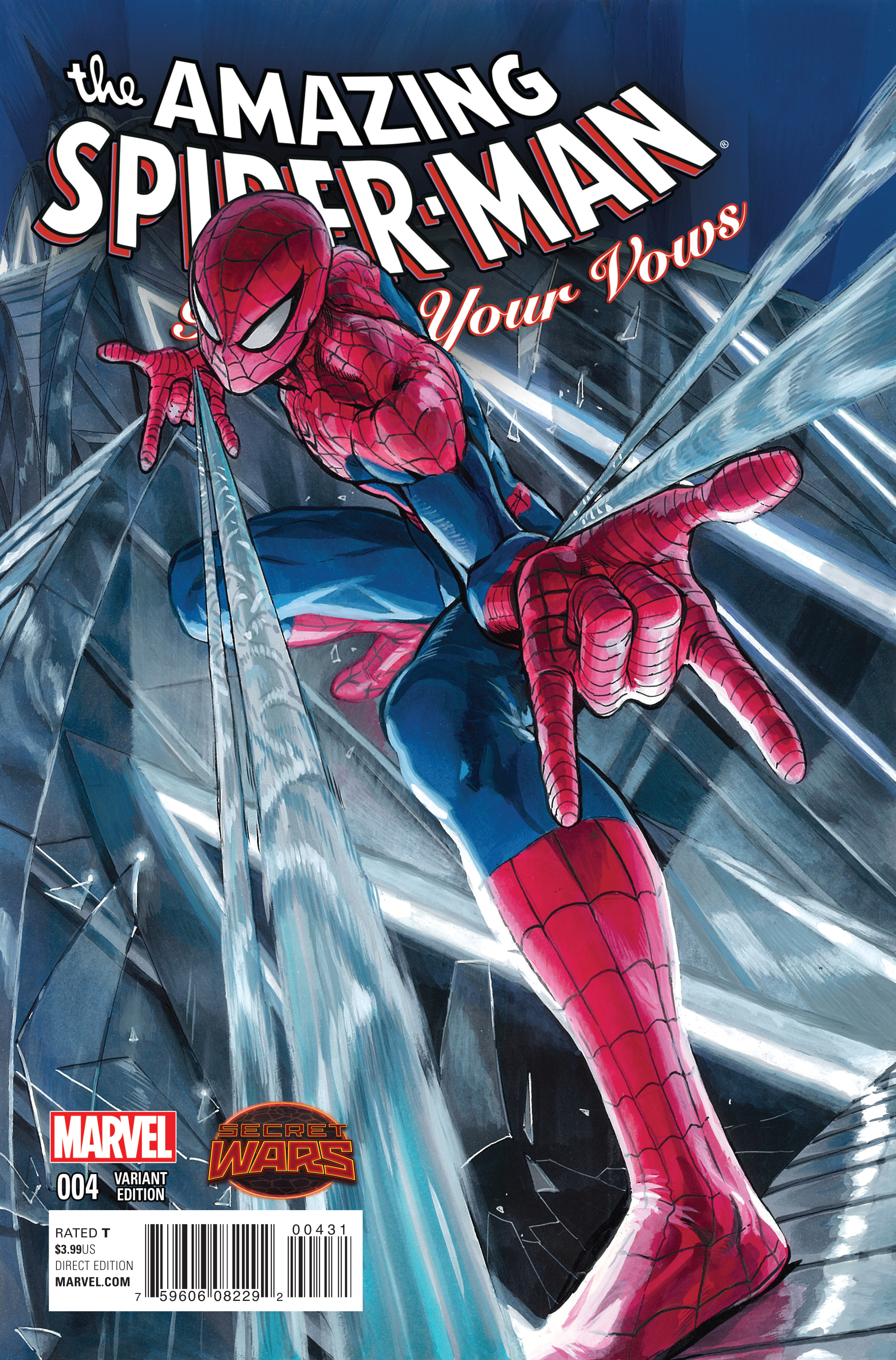 AMAZING SPIDER-MAN RENEW YOUR VOWS #4 MANGA VAR SWA