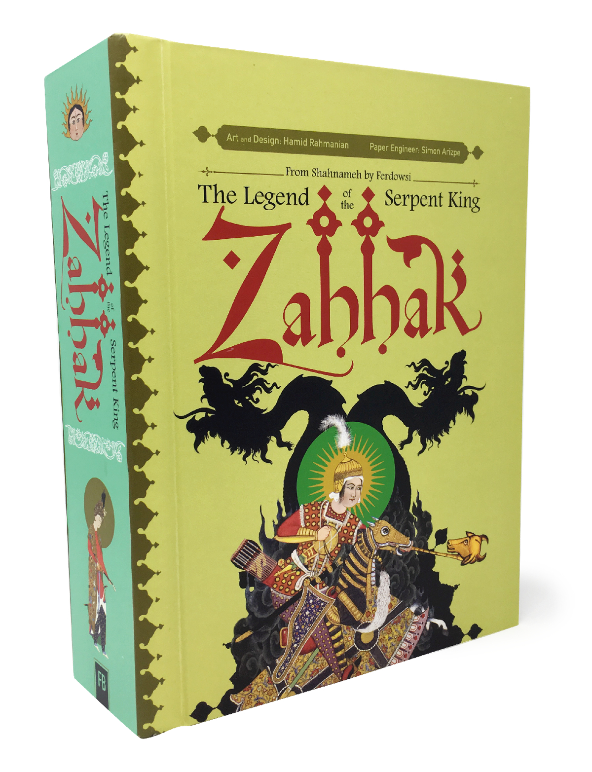 ZAHHAK HC LEGEND OF SERPENT KING POP UP BOOK (RES)