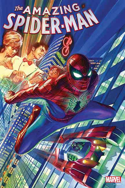 AMAZING SPIDER-MAN #1 BY ROSS POSTER
