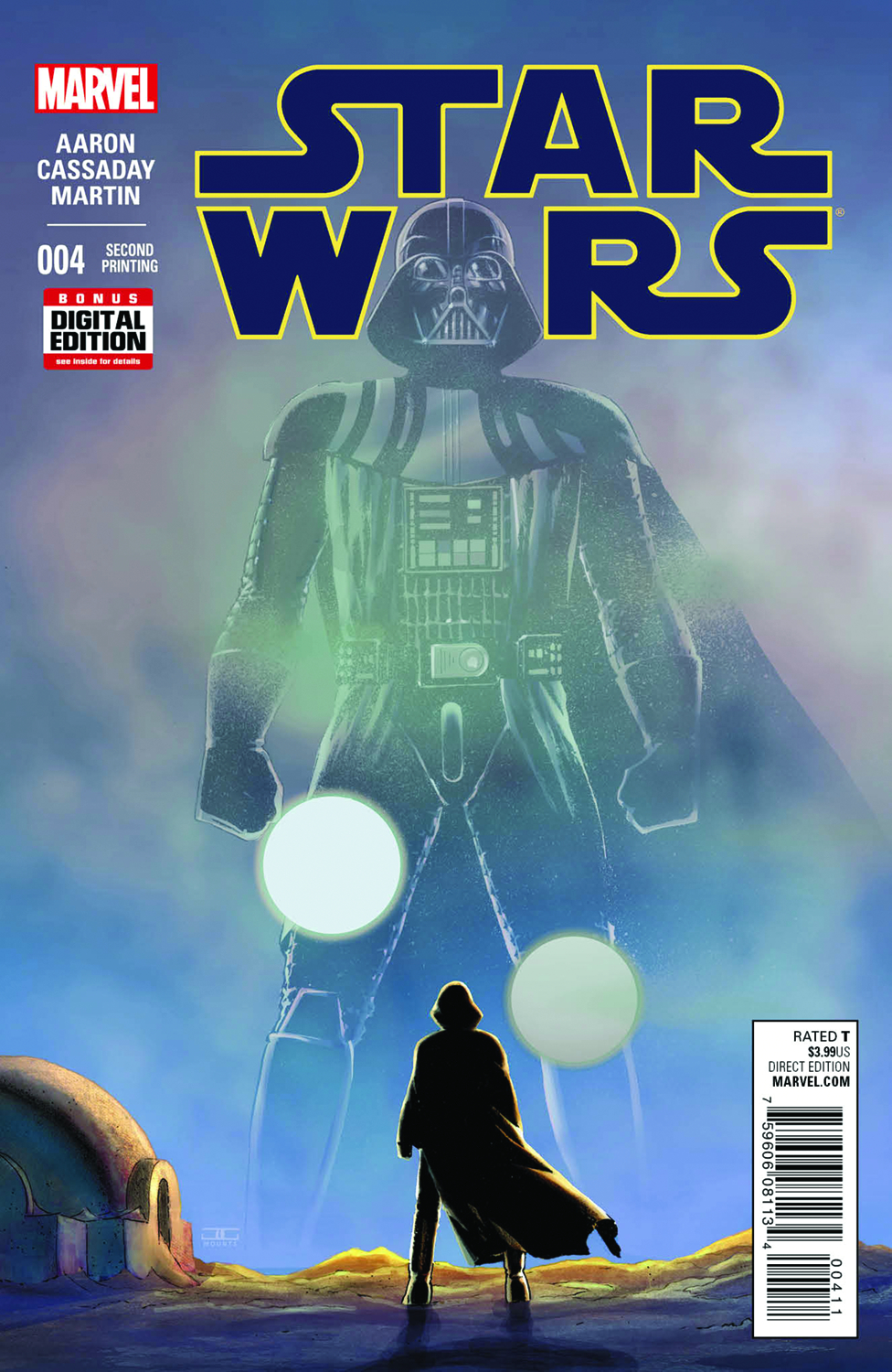 STAR WARS #4 CASSADAY 2ND PTG VAR (PP #1184)