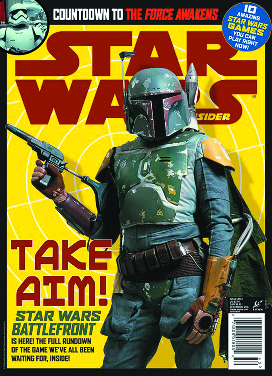 STAR WARS INSIDER #161 NEWSSTAND ED
