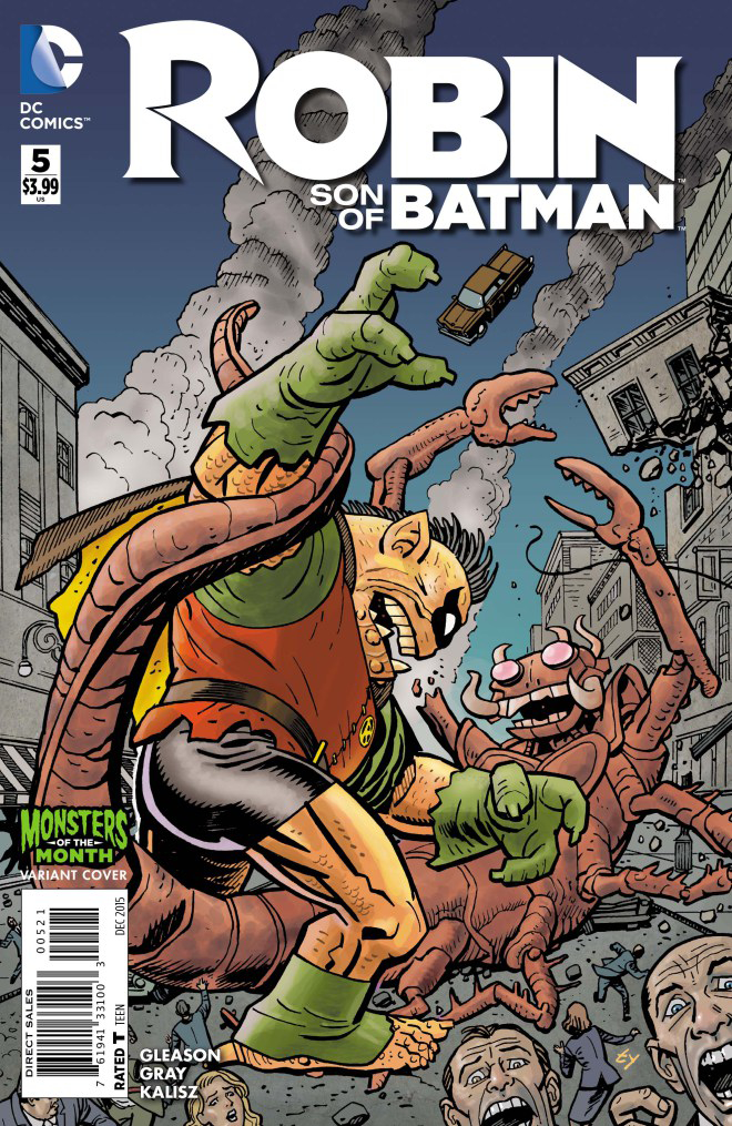 ROBIN SON OF BATMAN #5 MONSTERS VAR ED