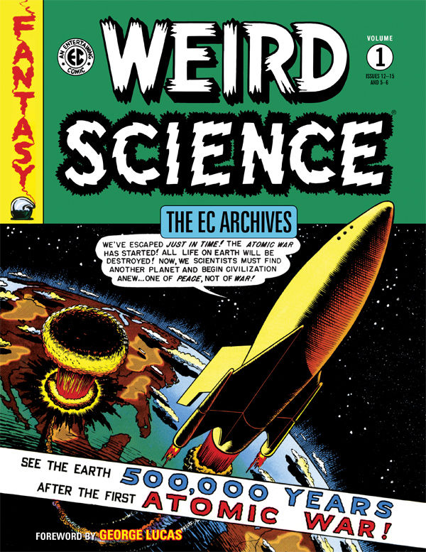 EC ARCHIVES WEIRD SCIENCE VOL 01 (AUG150034)