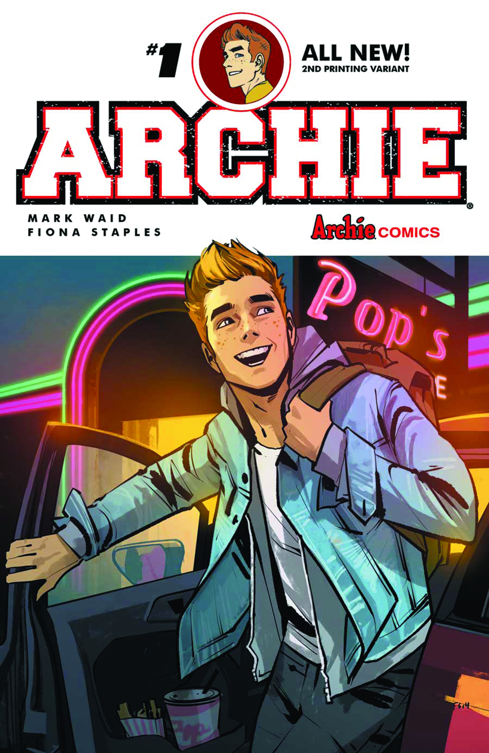 ARCHIE #1 2ND PTG (PP #1188)