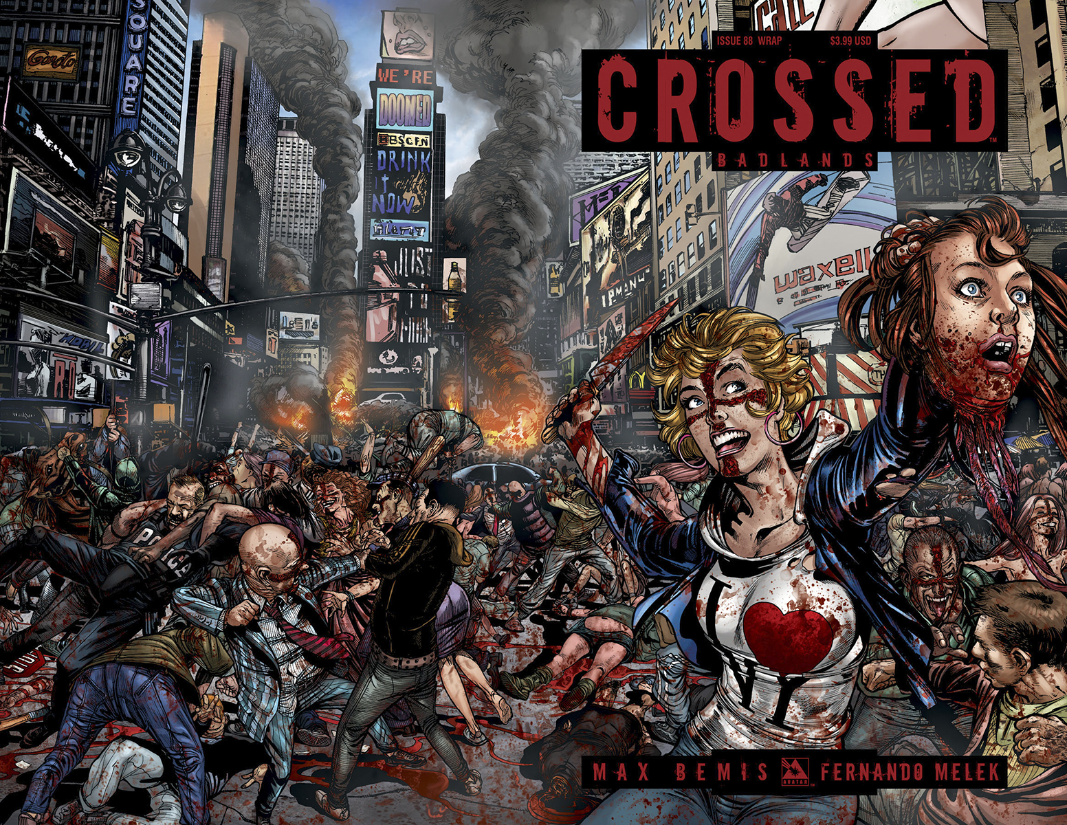 CROSSED BADLANDS #88 WRAP CVR (MR)
