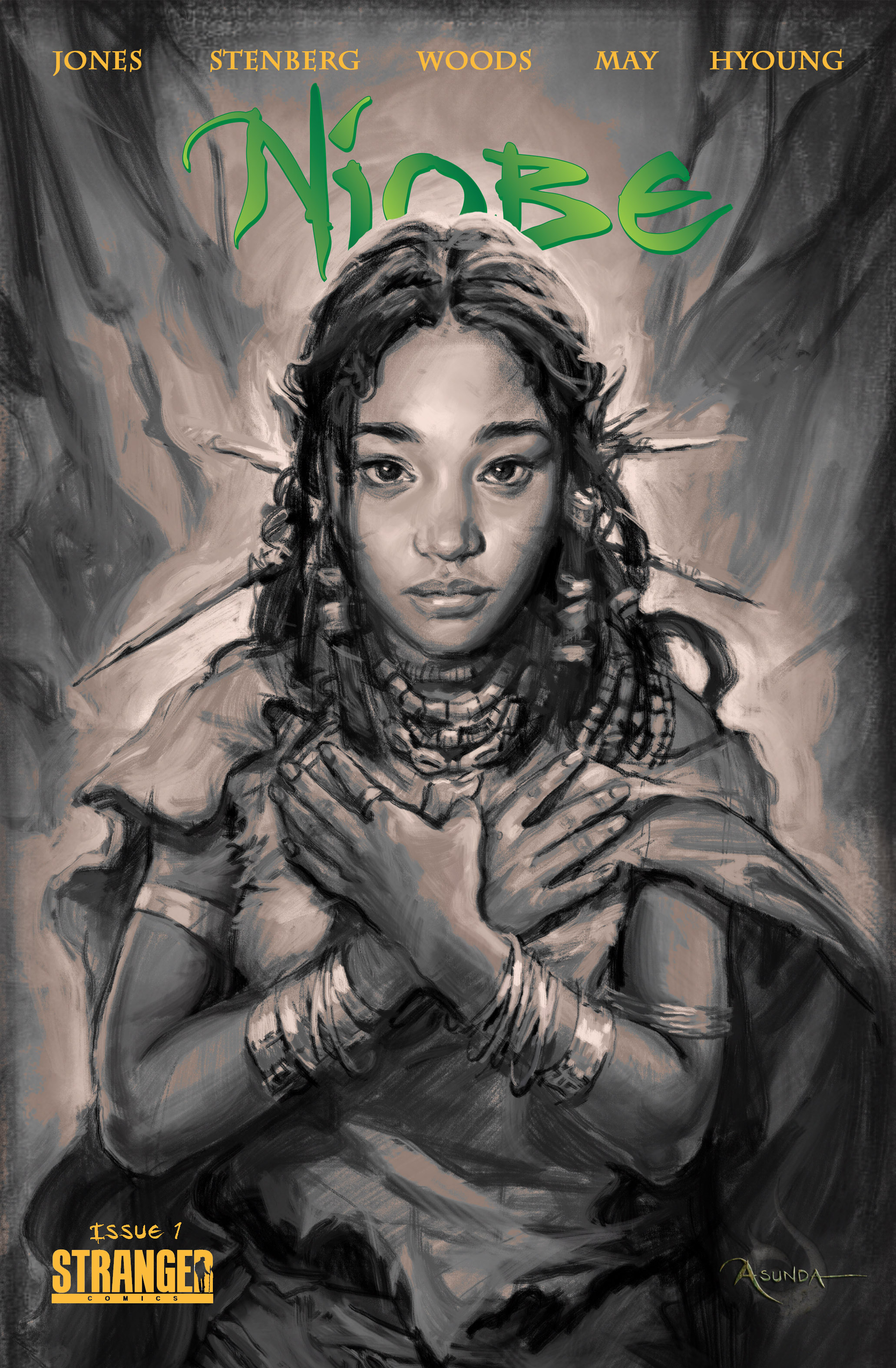 NIOBE SHE IS LIFE #1 5 COPY NAM INCV