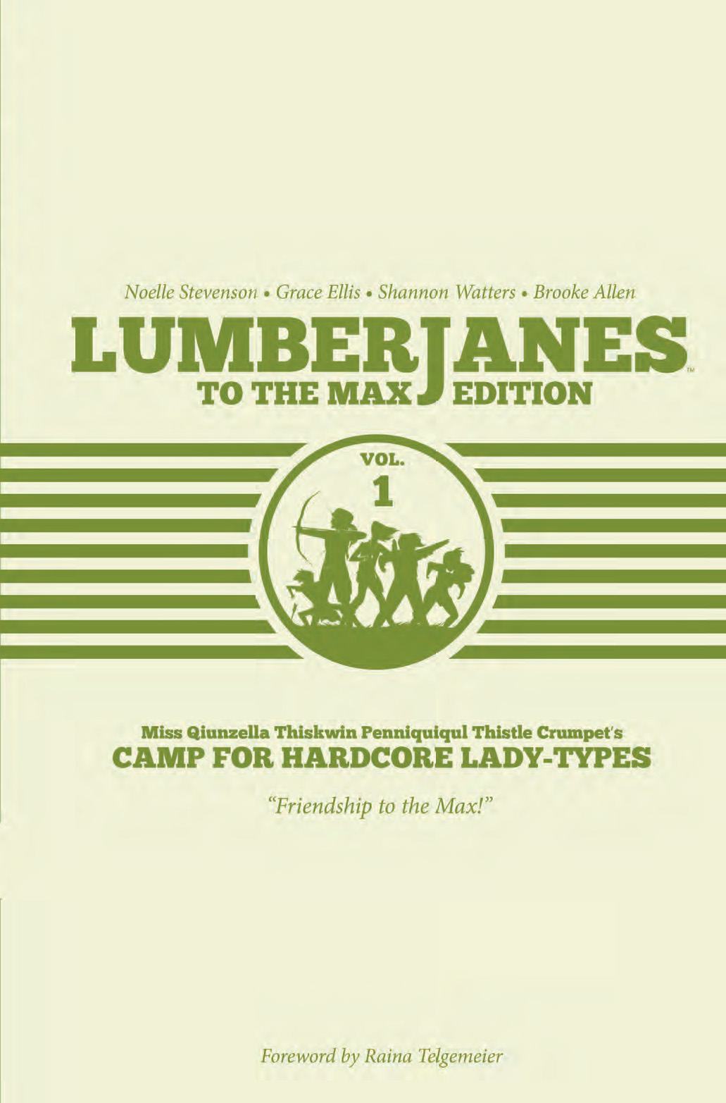 LUMBERJANES TO MAX ED HC VOL 01
