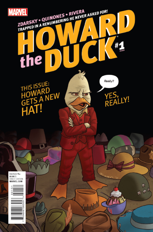 HOWARD THE DUCK #1 QUINONES VAR