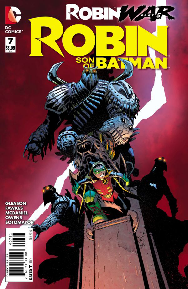 ROBIN SON OF BATMAN #7 (ROBIN WAR)