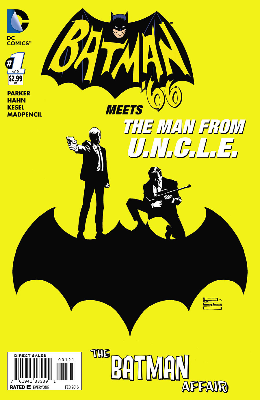 BATMAN 66 MEETS THE MAN FROM UNCLE #1 (OF 6) VAR ED