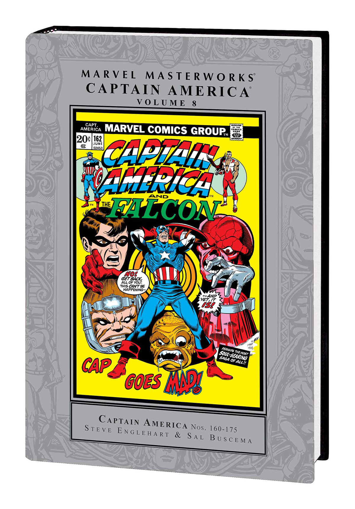 MMW CAPTAIN AMERICA HC VOL 08